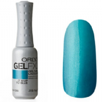 Orly Gel Fx - Its Up To Blue